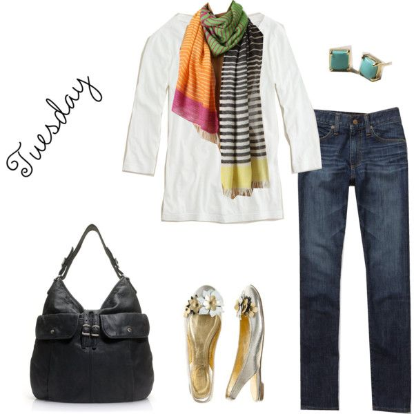 cute & colorful <3 #scarf