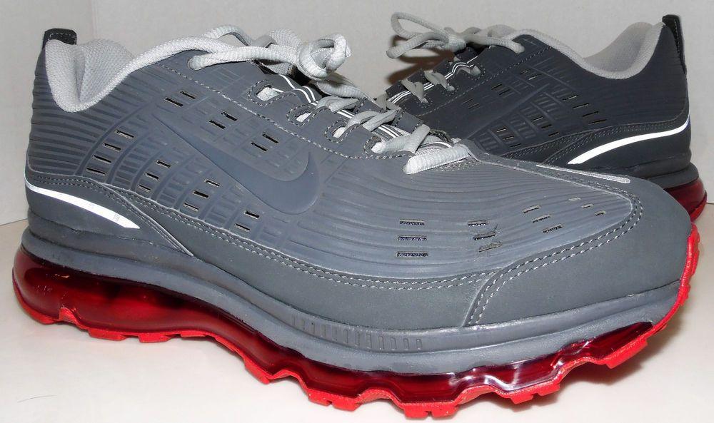 Nike Air Max 2006 Leather 'BlackDark Grey Sport Red