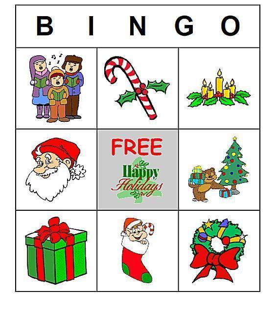 11 Free, Printable Christmas Bingo Games for a Family Fun Night ...