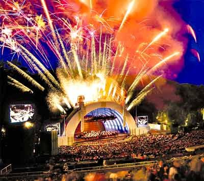 I La S Hollywood Bowl Especially On The 4th Of July