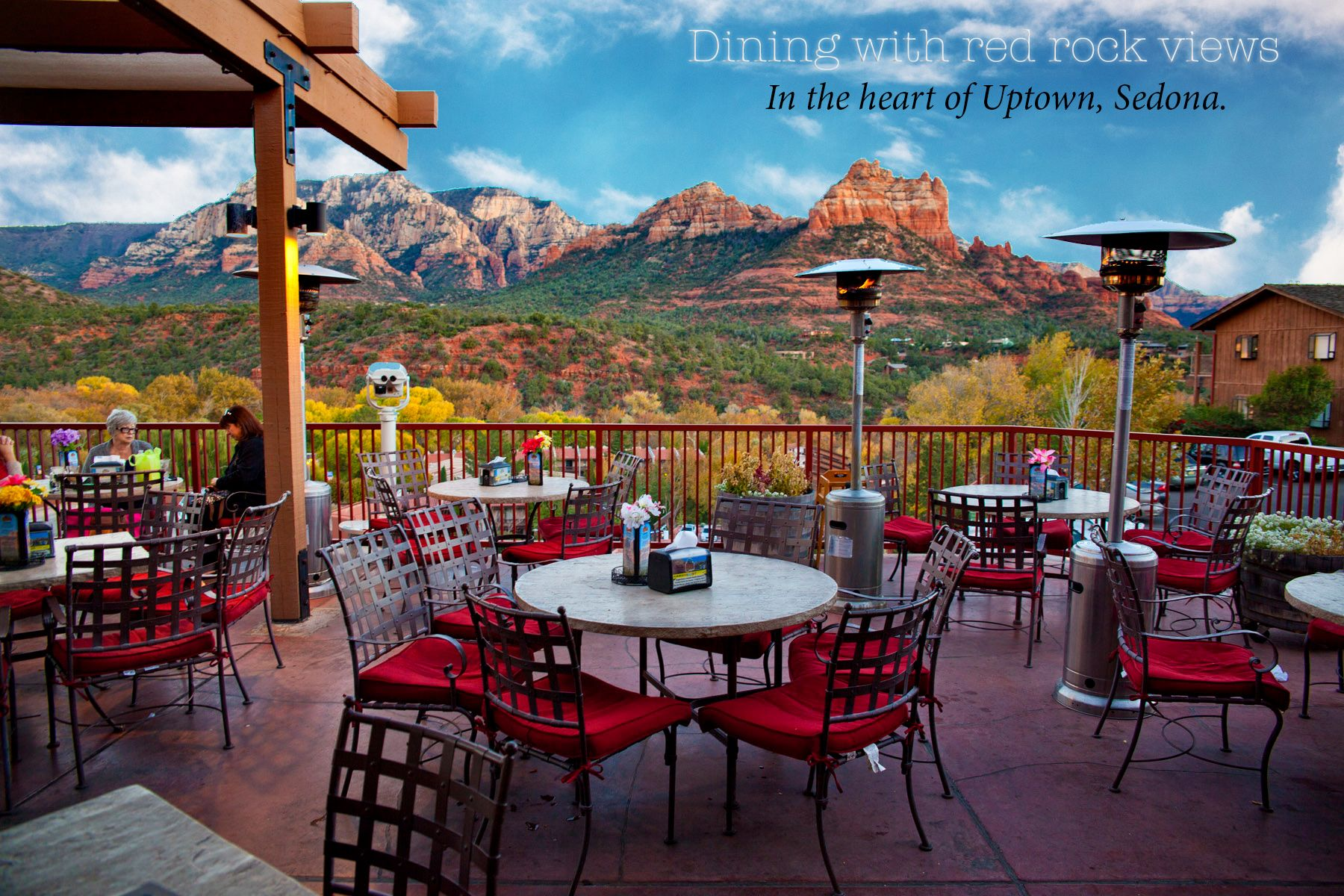 Canyon Breeze Dining Red Rock Views Mixed reviews on food