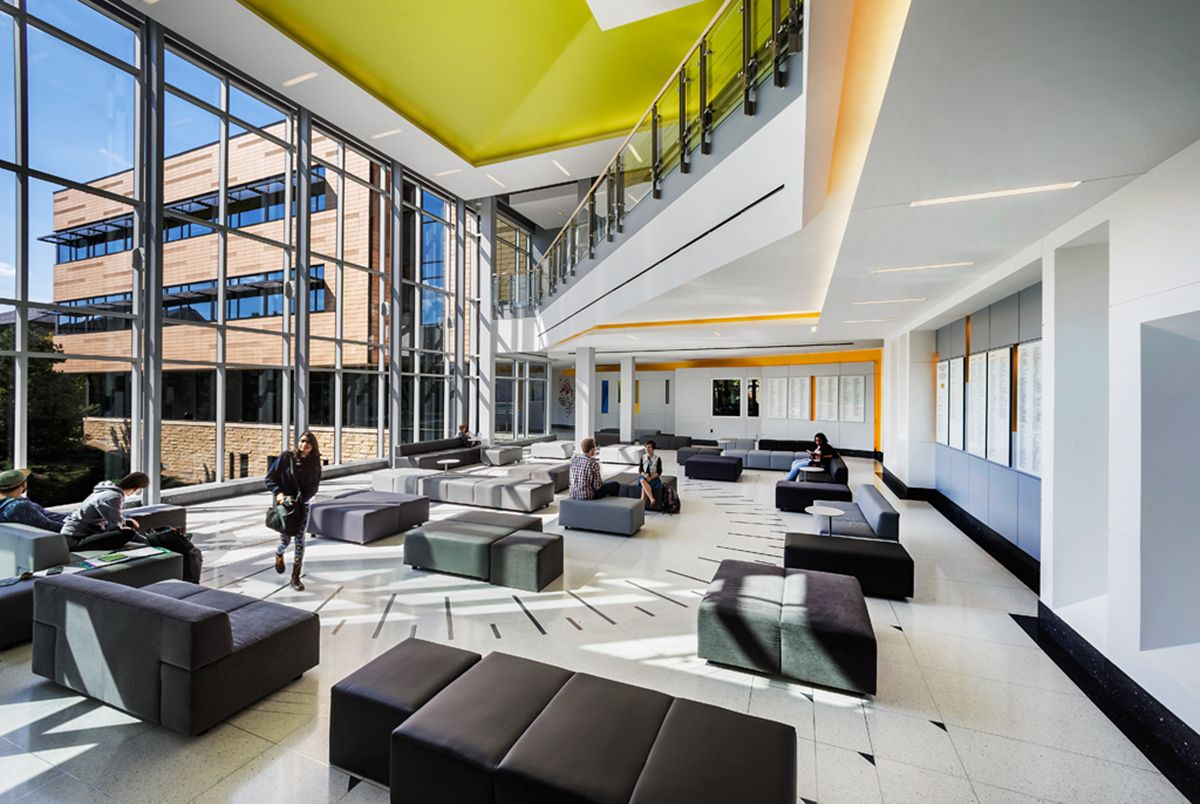 Interior design north park university entrance lobby for Interior design and decorating schools in lagos