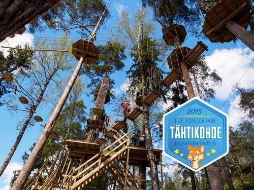 #SeikkailupuistoHuippu @KivaaTekemista testissä: http://kivaatekemista.fi/blog/kivaatekemista-testasi-seikkailupuisto-huipun/ …