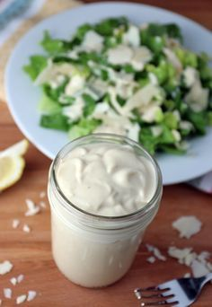 A super fatty, super delicious Caesar dressing that can be made in under 5 minutes. Are the new fat bombs salads? Shared via http://www.ruled.me
