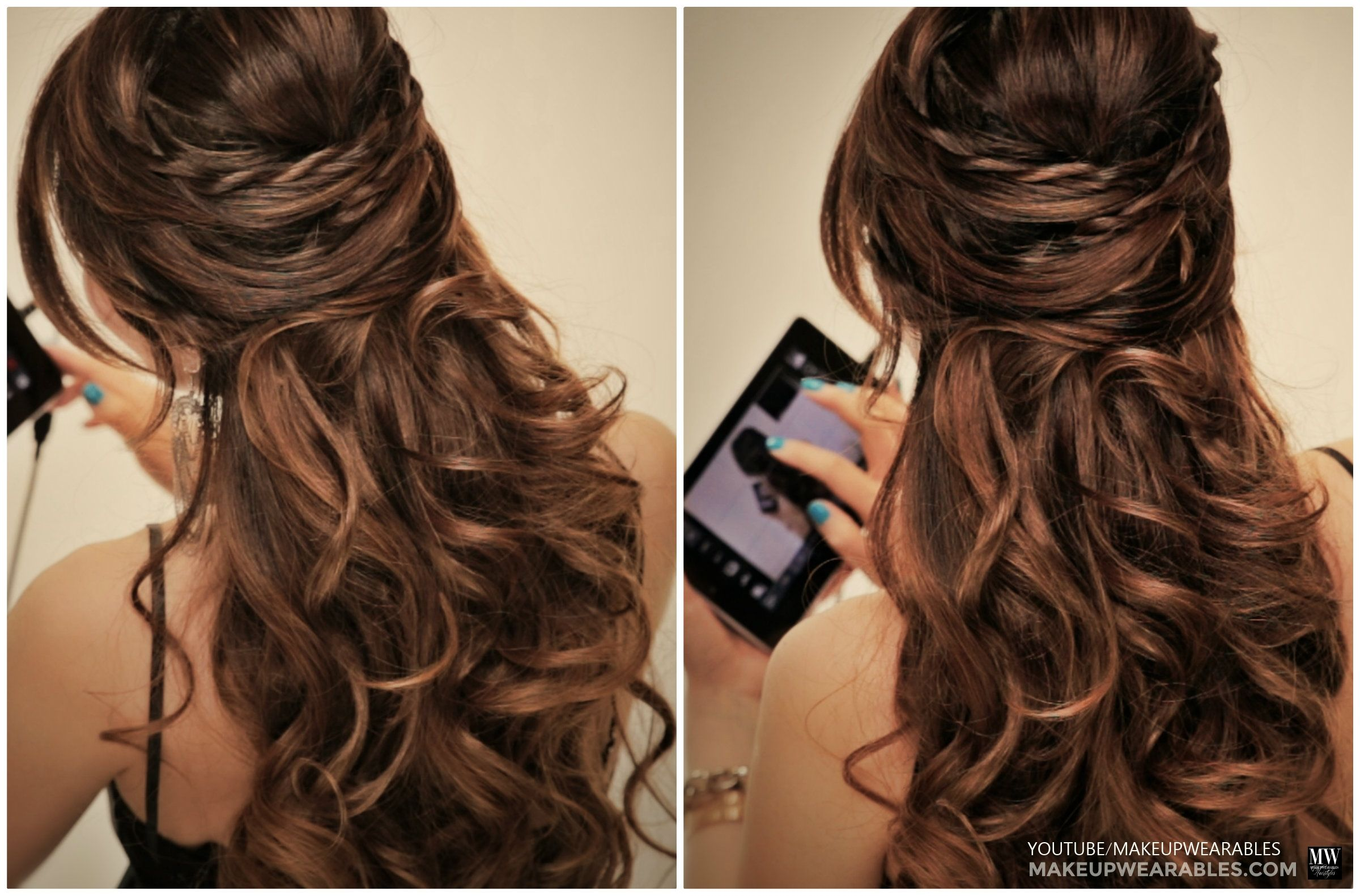 How To 5 Amazingly Cute Easy Hairstyles With A Simple Twist Easy Hairstyles Party Hairstyles For Long Hair Long Hair Styles