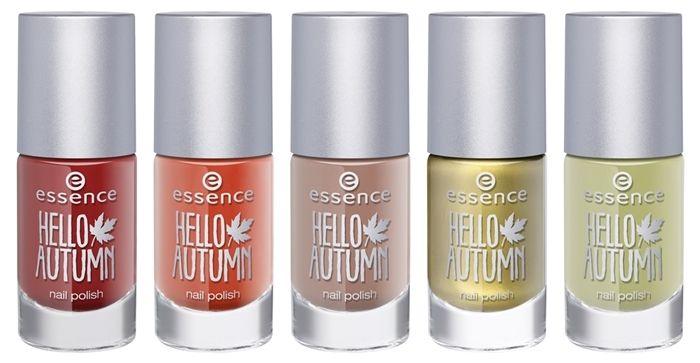 Hello autumn di Essence, la nuova trend edition http://bit.ly/1lGSWX0 #makeup #cosmetics #newcollection #essence #fw14 smalto unghie ad effetto termosensibile
