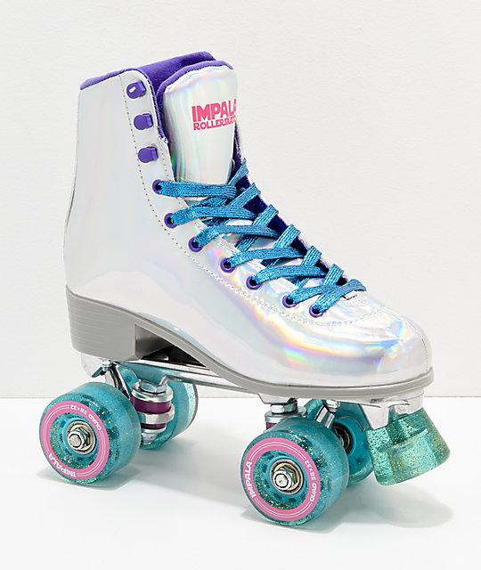 Impala Holographic Roller Skates Zumiez Girls Roller Skates Quad Roller Skates Roller Skating Outfits