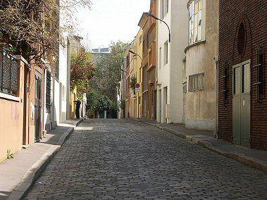 Villa Seurat. Soutine, Gromaire et Henry Miller ont vécu dans cette impasse.