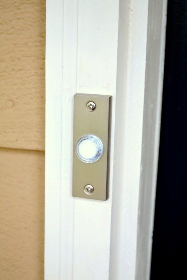 How To Replace A Doorbell Doorbell Doorbell Cover Replace Doorbell