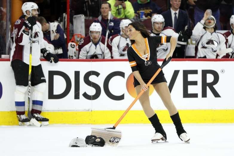 NHL Ice Girls Ice girls, Hockey girls, Nhl