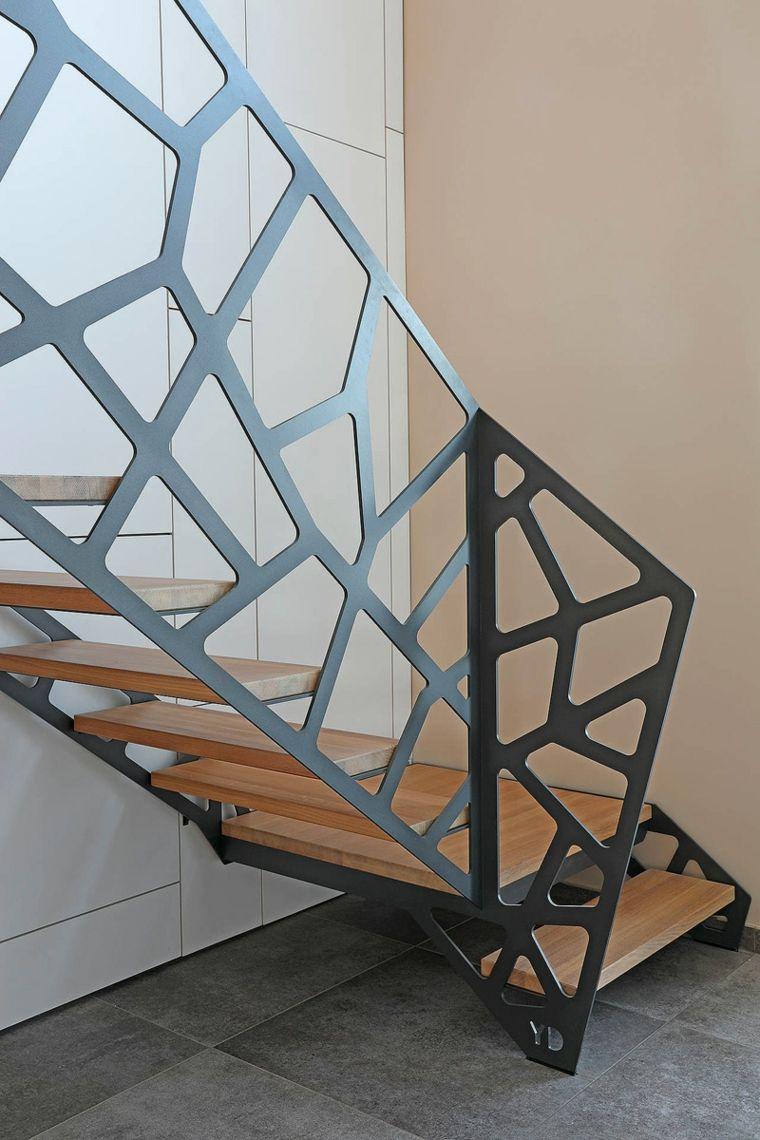 Balaustrada con dise o espectacular ideas para todos los - Barandillas para escaleras interiores modernas ...