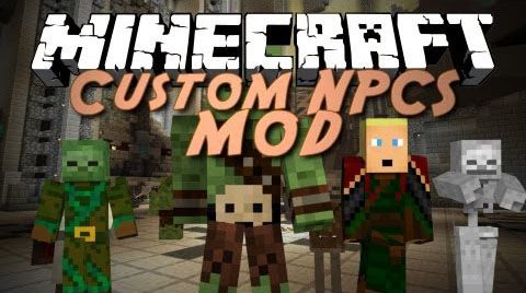 Minecraft Custom NPCs Mod Download Minecraft - Minecraft spiele mods