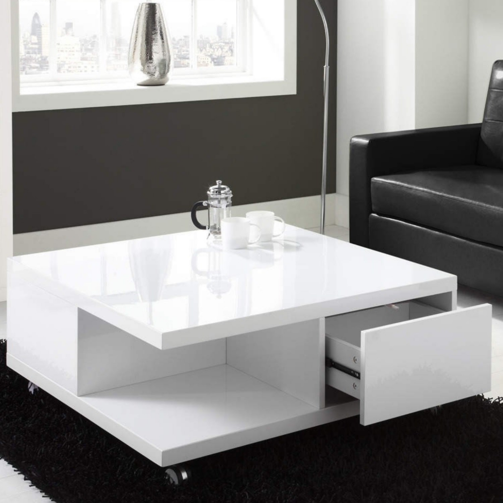 White High Gloss Coffee Table With Storage Drawers Tiffany Range Furniture123 Coffee Table With Storage Coffee Table White Gloss Coffee Table