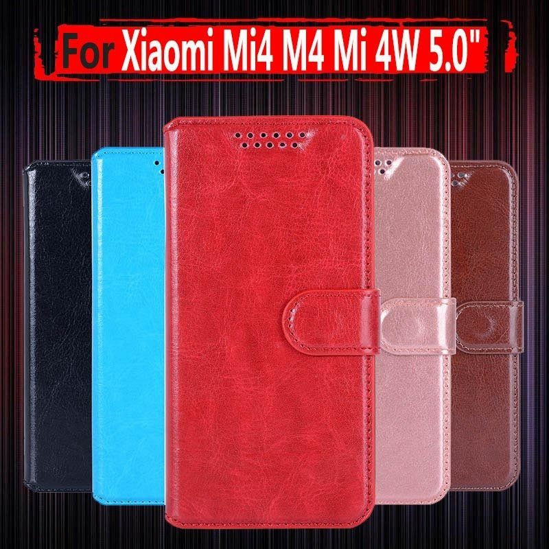 separation shoes 6b4b8 33e86 for Xiaomi Mi4W Mi 4W Flip Leather Case cover For Xiaomi Mi4 mi 4 M4 ...