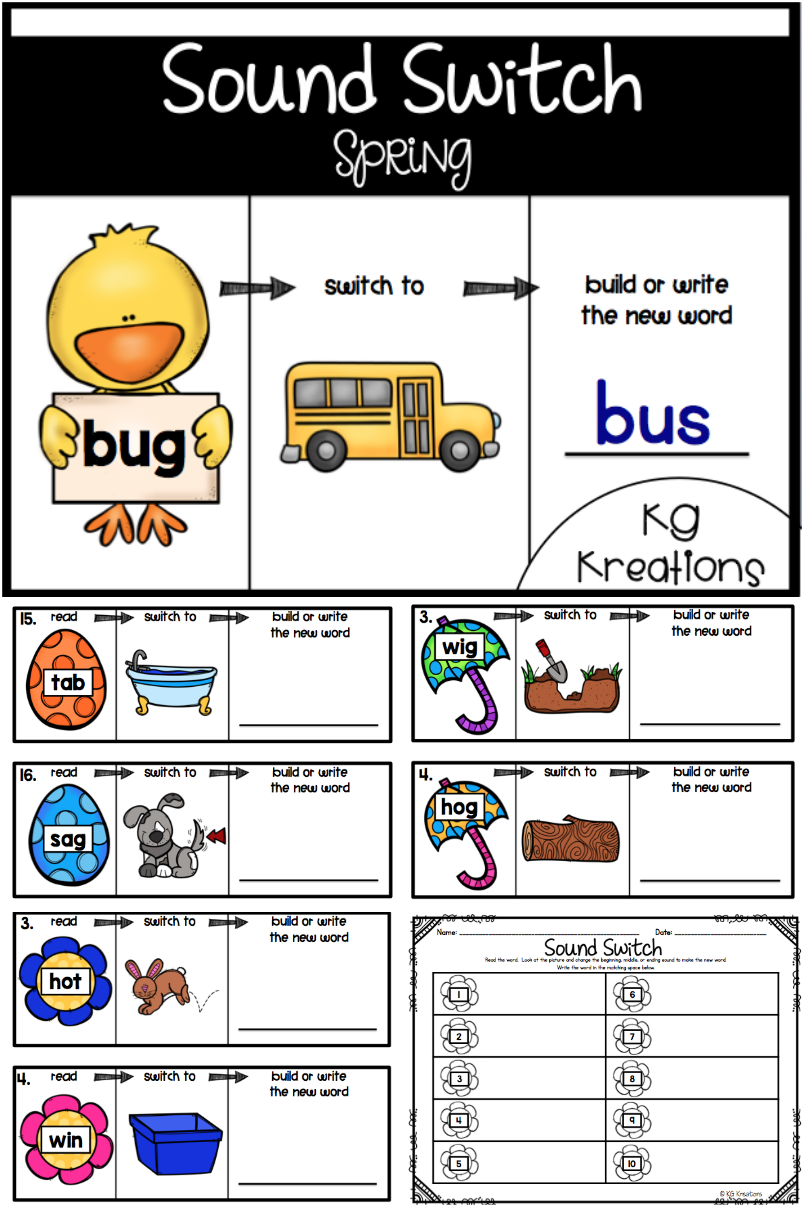 Let Your Students Practice Phoneme Substitution In A Fun