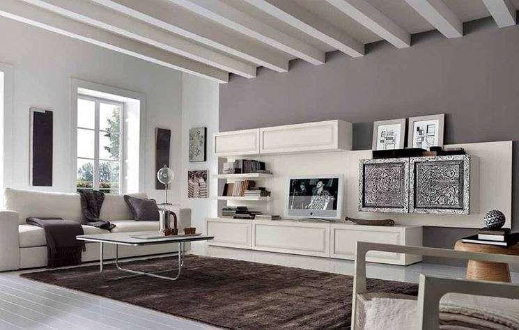 Come arredare il soggiorno con il grigio   Arredamento, Idee ...