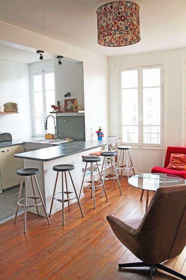 Meuble bar pour cuisine ouverte  nos conseils Pinterest Cuisine