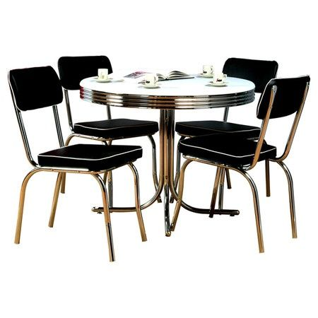 Retro Dining Set Interesting Things Pinterest Dining Sets   Retro Dining  Room Sets