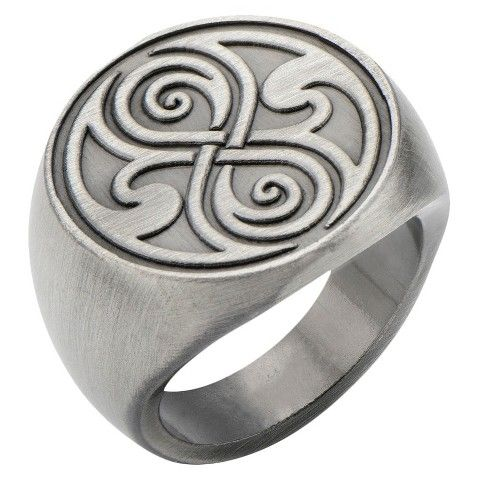 DOCTOR WHO Dr. Who Seal of Rassilon Ring 127ud