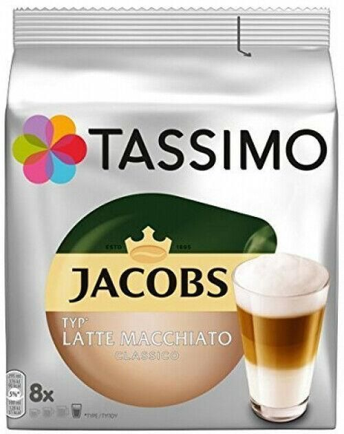 Neu eingetroffen ➡ Tassimo Jacobs Typ Latte Macchiato Classico Kaffee 40 Kapseln 5 x 264 g 5er Pack✅ #ecommerce #onlineshop #angebot #lattemacchiato Neu eingetroffen ➡ Tassimo Jacobs Typ Latte Macchiato Classico Kaffee 40 Kapseln 5 x 264 g 5er Pack✅ #ecommerce #onlineshop #angebot #lattemacchiato Neu eingetroffen ➡ Tassimo Jacobs Typ Latte Macchiato Classico Kaffee 40 Kapseln 5 x 264 g 5er Pack✅ #ecommerce #onlineshop #angebot #lattemacchiato Neu eingetroffen ➡ Tassimo Jacobs Typ L #lattemacchiato