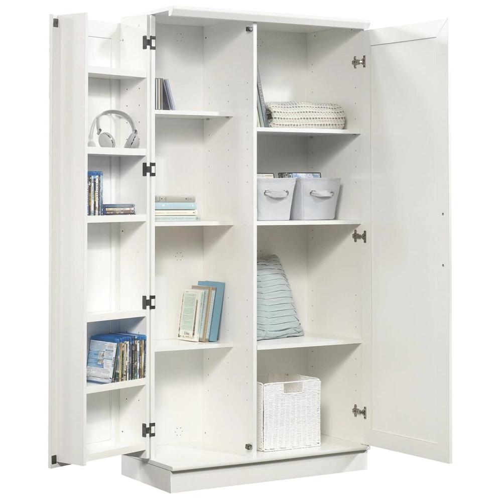 Sauder Homeplus Storage Cabinet In Soft White Nebraska Furniture Mart In 2020 Kitchen Cabinet Storage Storage Cabinet Cabinets For Sale