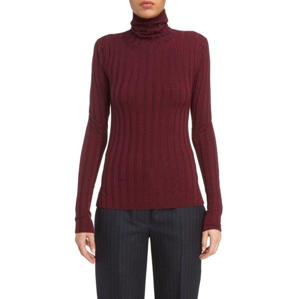Women's Acne Studios Corina Fitted Turtleneck Sweater ($340 ...