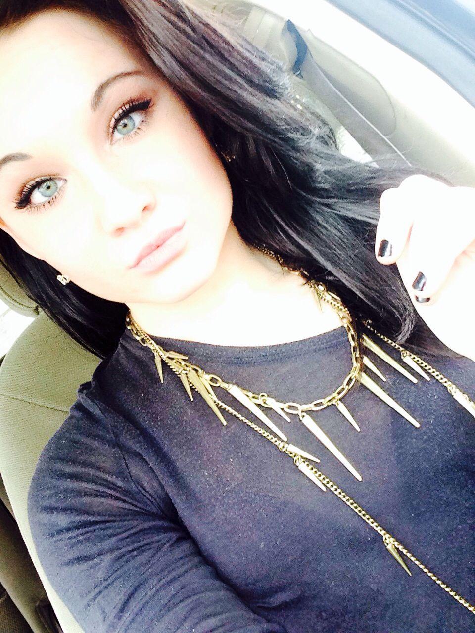 Gorgeous makeup for blue green eyes loose voluminous black hair