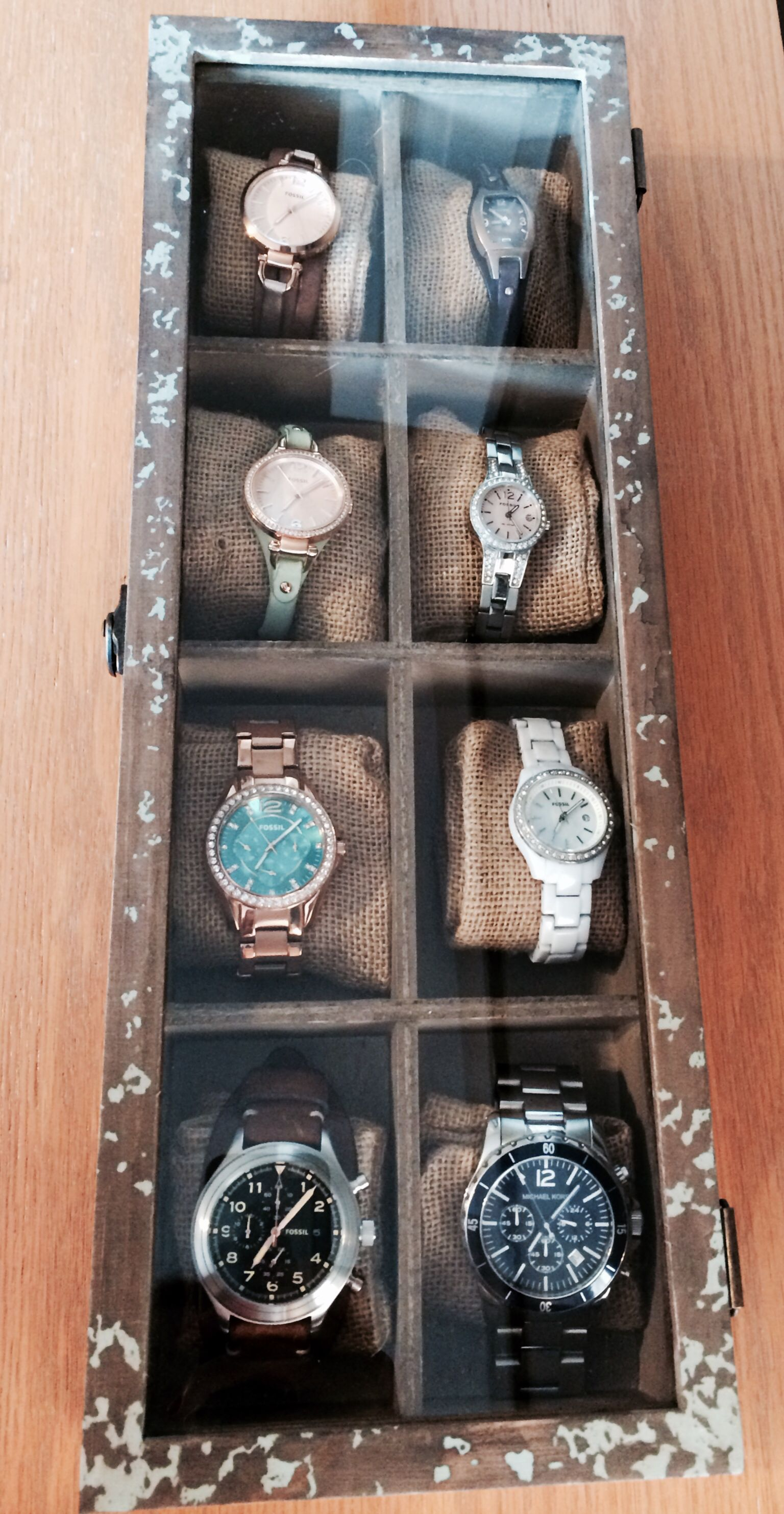 Homemade Watch Box Made By Matt And Me One Of My Toys