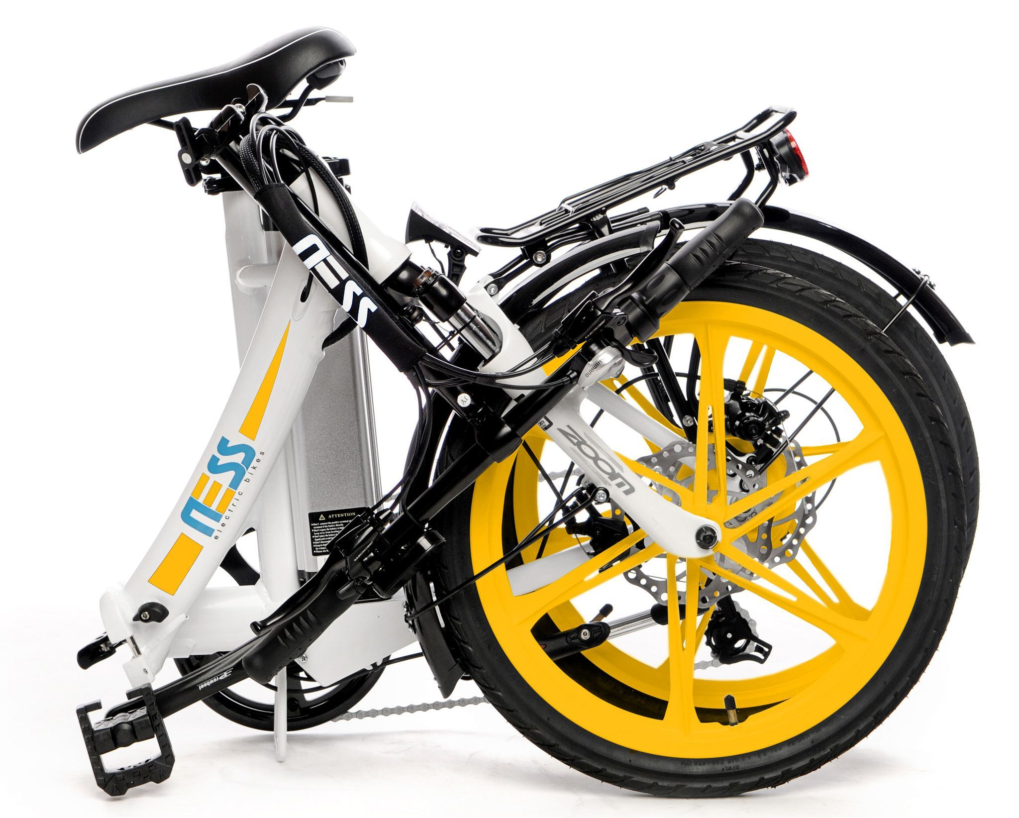 Ness Icon Folding Electric Bike Electric Bike Review Bike