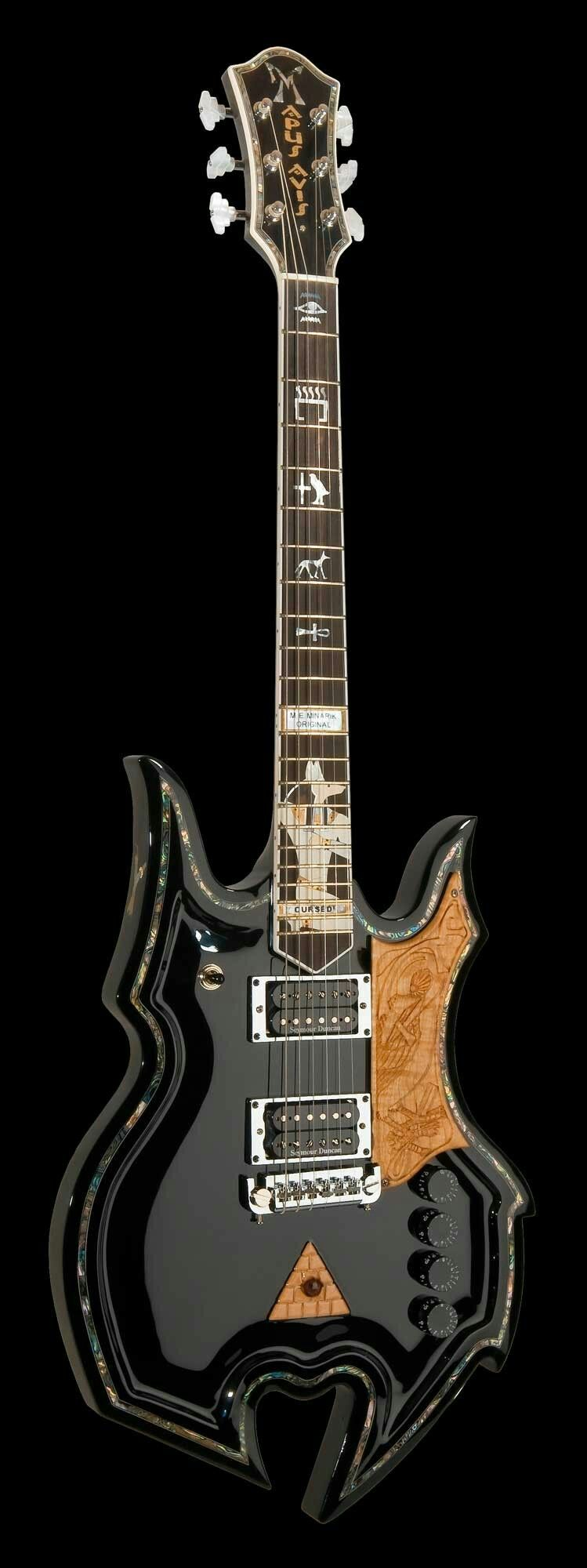 Diablo minarik guitars 2