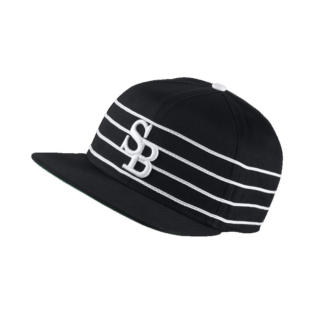6219eba4f3c Nike SB Striped Adjustable Hat (Black) - Clearance Sale