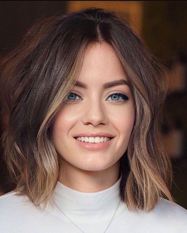 45 Neue Moderne Frisuren Damen In 2020 Haarschnitt Ideen Stilvolle Frisuren Haarfarben Ideen