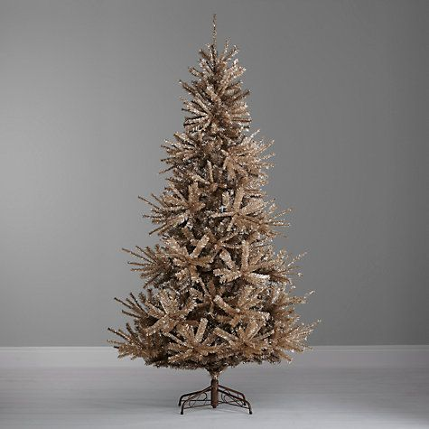 John Lewis Champagne Gold Christmas Tree 7ft Gold Christmas Tree Gold Christmas Artificial Christmas Tree