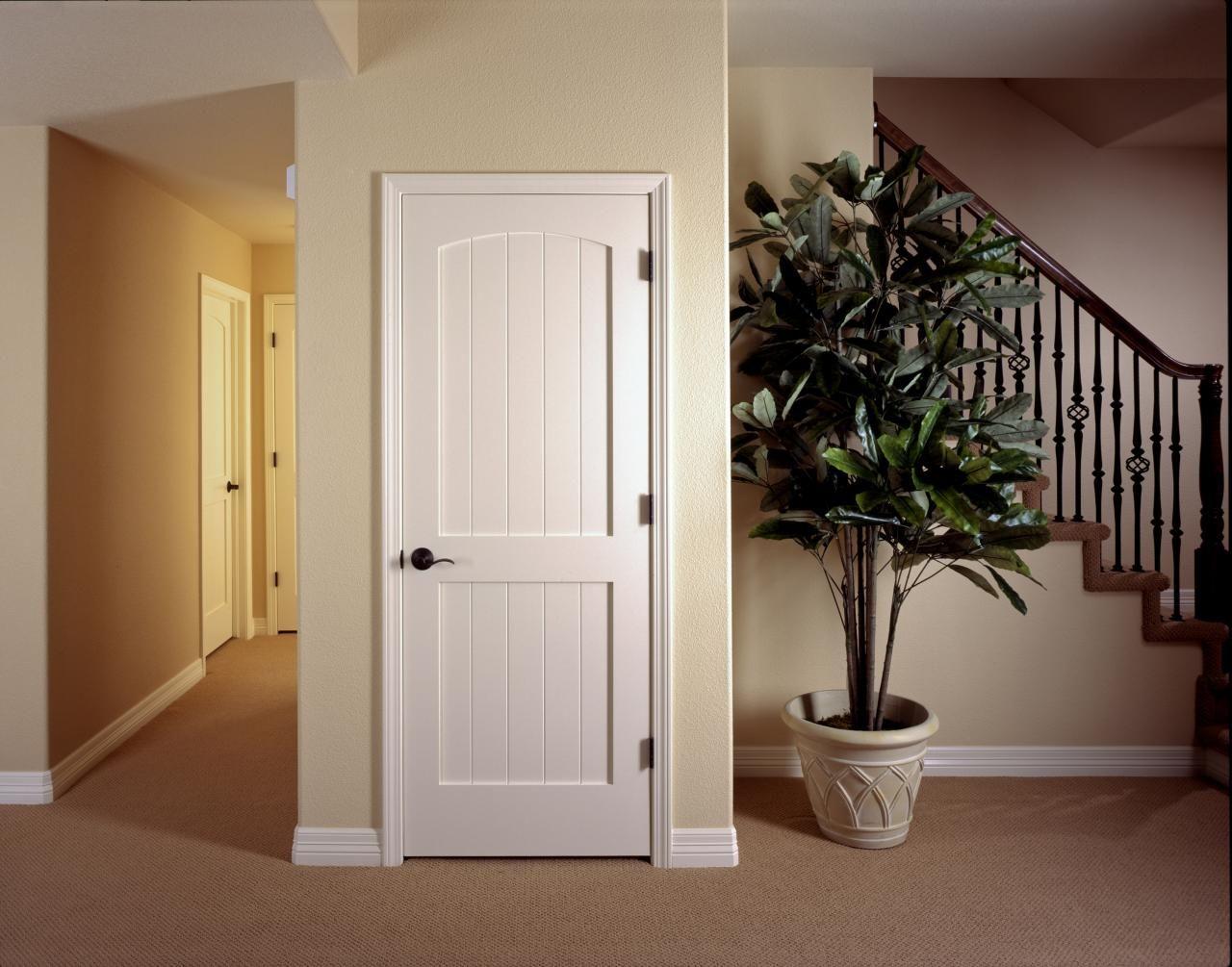 Nice MDF Interior Door TruStile V Grove Series