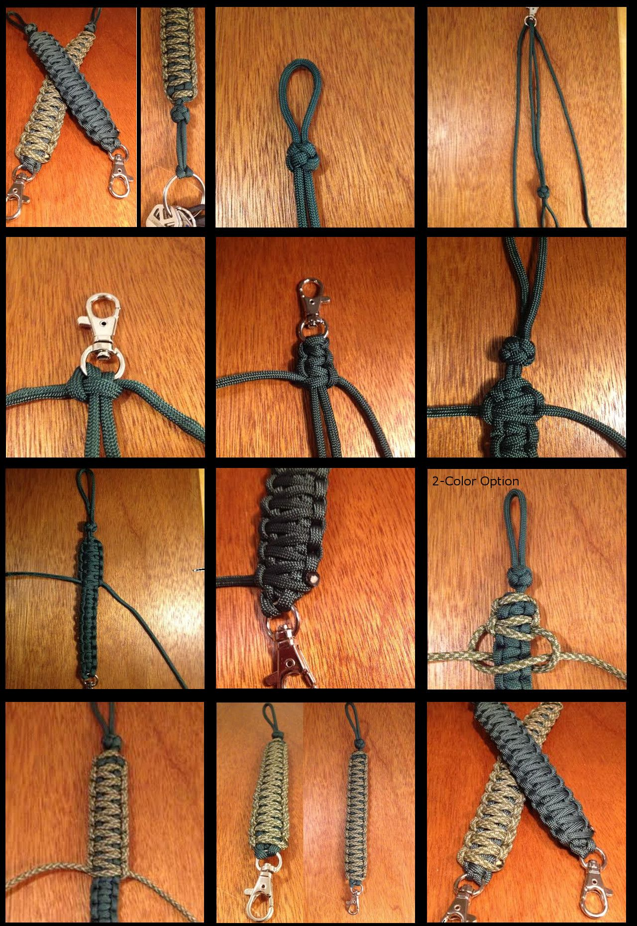 How to Make a Paracord Key Chain Lanyard – King Cobra ...