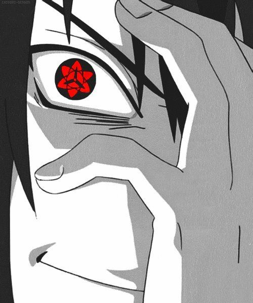 Uchiha Sasuke Well Awry You Just A Little Lollipop Triple Dipped In Psyco Mangekyou Sharingan Sasuke Mangekyou Naruto Shippuden Anime