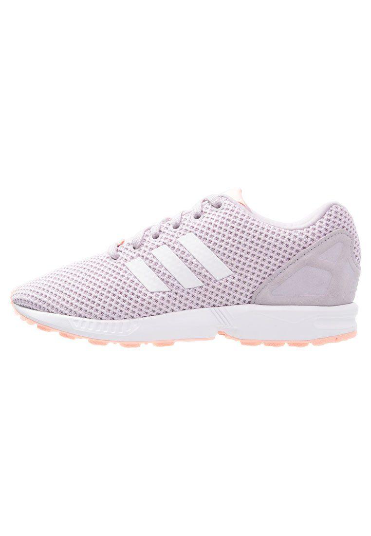 adidas Originals ZX FLUX Buty sportowe mauve/white/glow coral