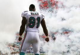 678b82a2 Cameron Wake Photos - Linebacker Cameron Wake of the Miami Dolphins is  introduced against the Oakland Raiders at Sun Life Stadium on December 2011  in Miami ...