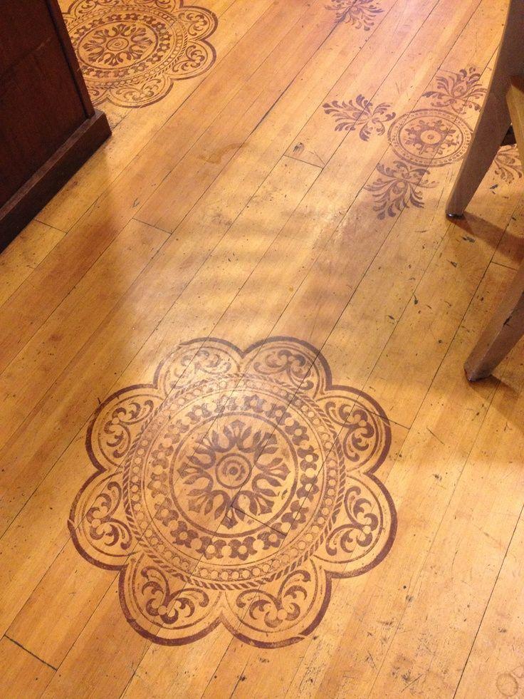 wood floor designs. Wood Stain Stenciling | Floor Designs L