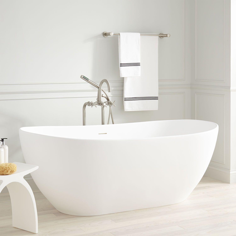 Boyce Acrylic Freestanding Tub Bathrooms Tub Bathroom Bathtub