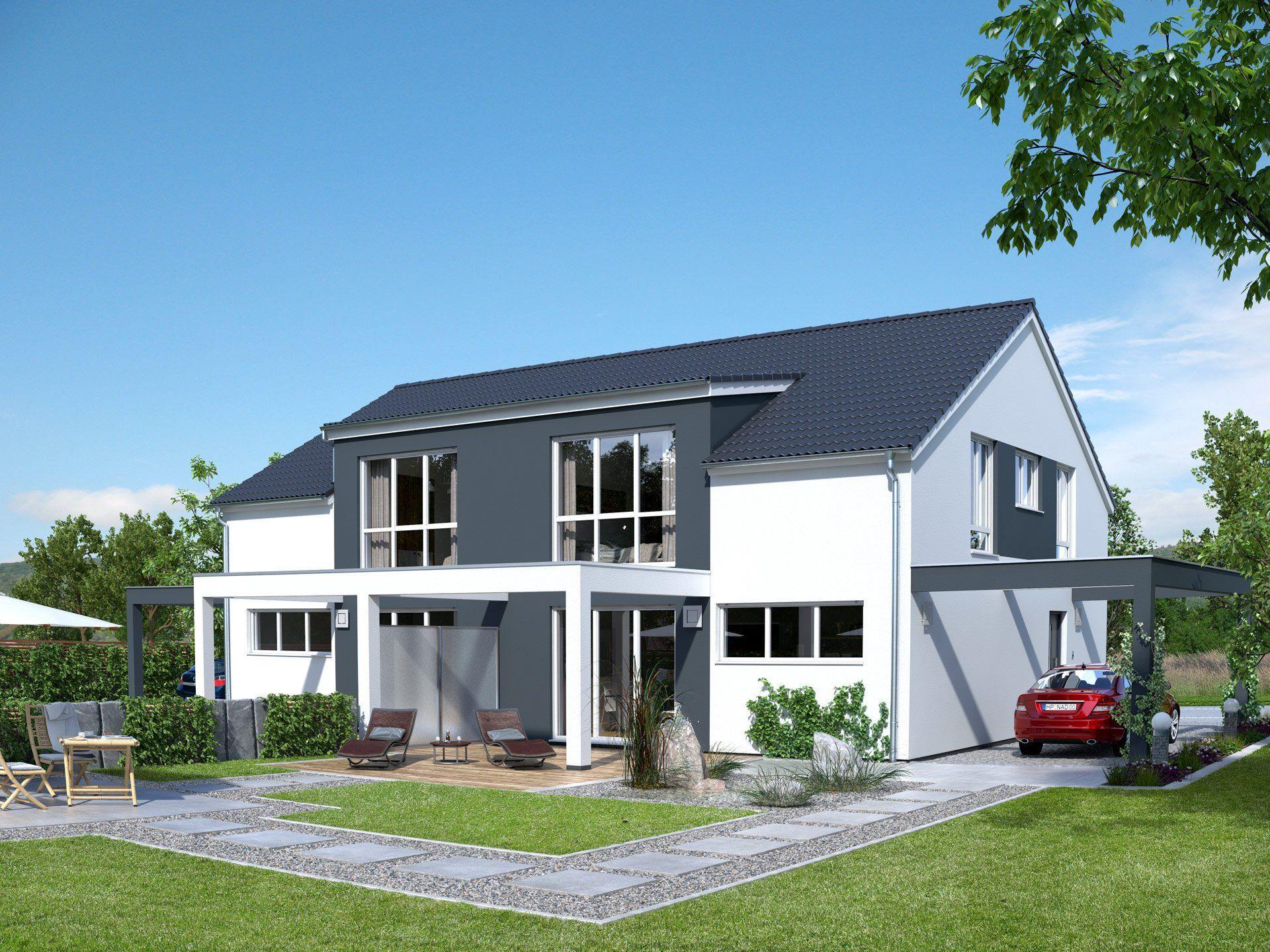 Beispielhaus 14.0 von Ytong Bausatzhaus Haus, Doppelhaus