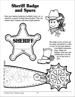 Sheriff badge and spurs wild west pinterest sheriff and badges sheriff badge and spurs pronofoot35fo Images