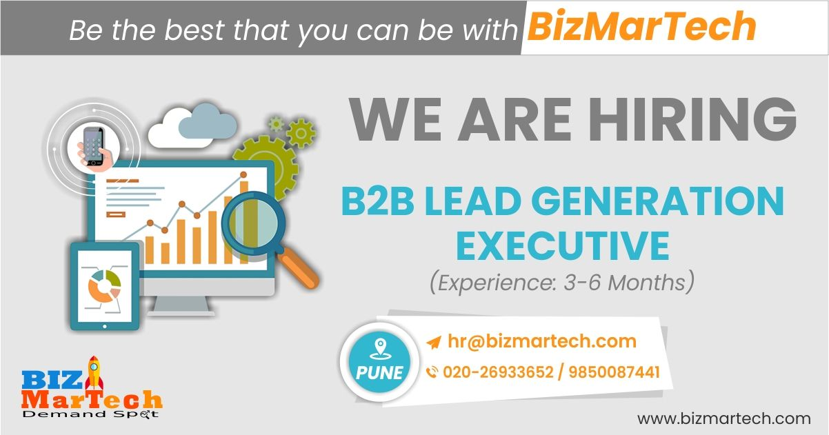 Hi Connection's, We are hiring for B2B Lead Generation