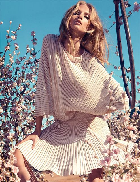 spring things : anna selezneva by camilla akrans by {this is glamorous}, via Flickr