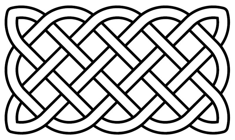 File Celtic Knot Basic Rectangular Png Wikimedia Commons Celtic Quilt Celtic Knot Designs Celtic Knot