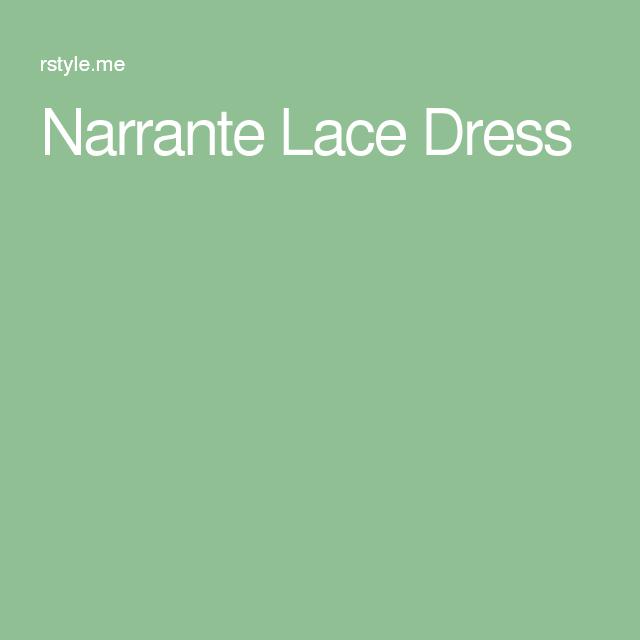 Narrante Lace Dress