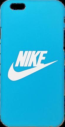 "Nike Light Blue White ""Swoosh Logo"" Hard Plastic iPhone 6"
