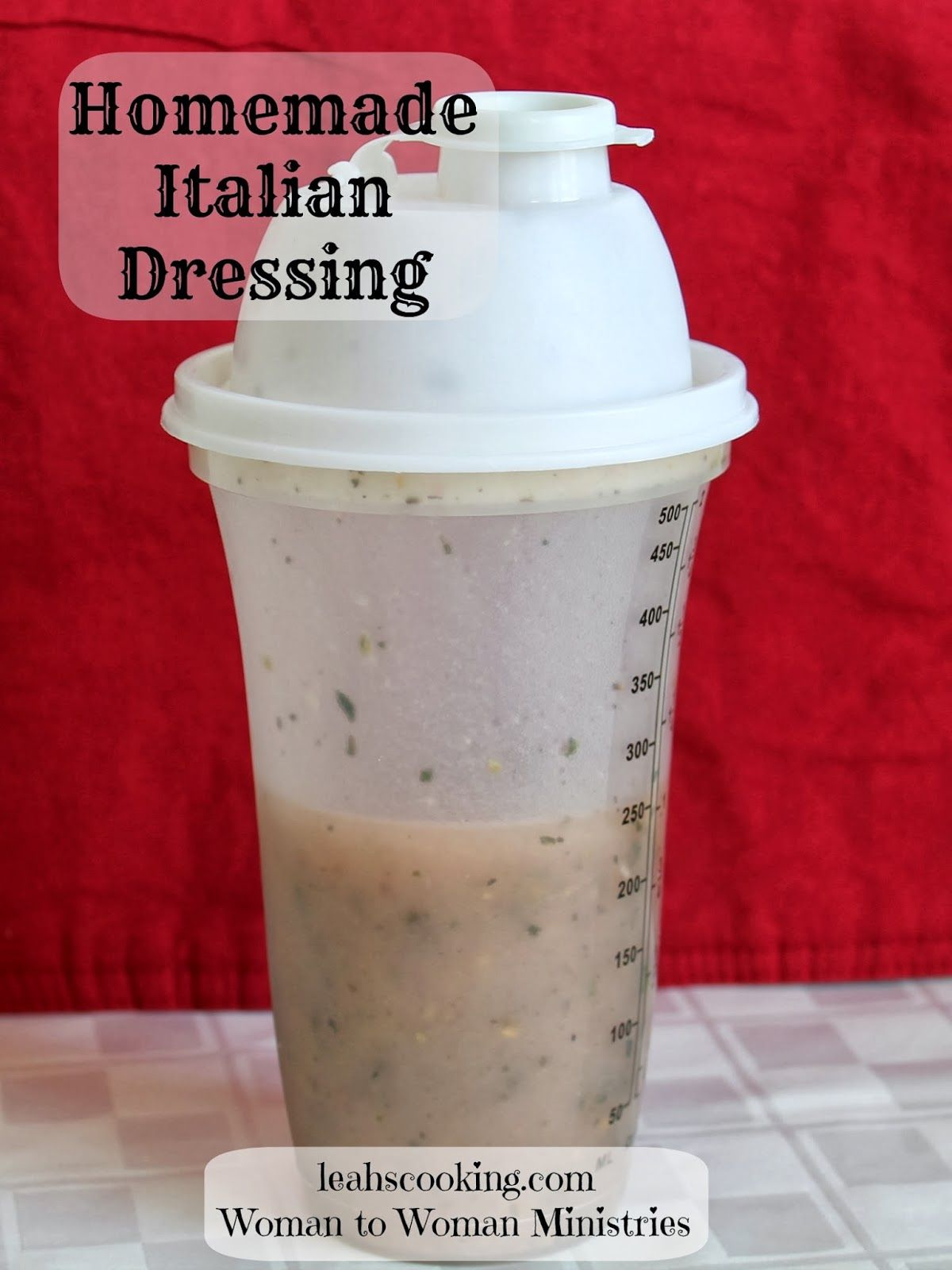 Homemade Italian Dressing Homemade Italian Dressing Italian Dressing Homemade Italian