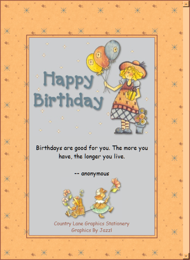 Top 50 Free Email Stationery Downloads For Outlook Express And Windows Live Mail Happy Birthday