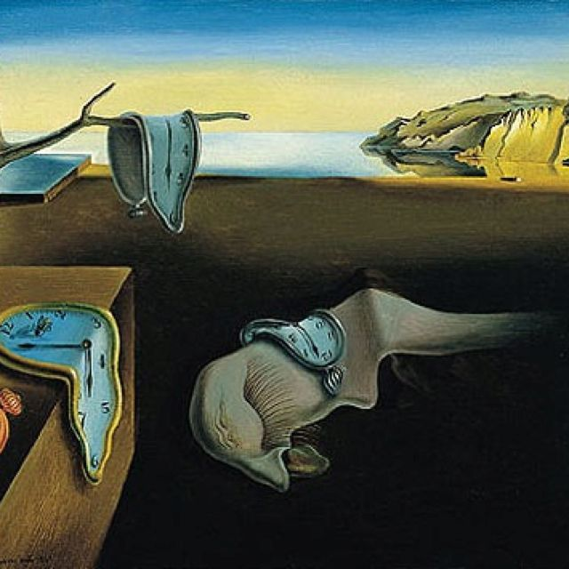 Illusion Of Time Dahli Dali Art Salvador Dali Art Dali Paintings